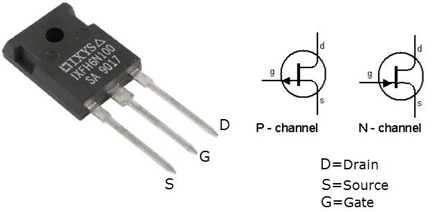 Field-Effect-Transistor-Pins