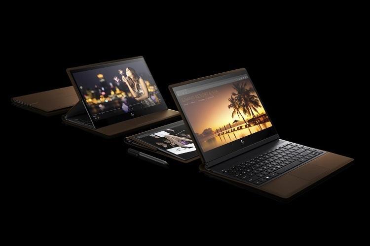 HP Spectre Folio และ HP Specter x360 โดย Folio เป็นพีซีแปลงสภาพเครื่องหนังเครื่องแรกของโลก