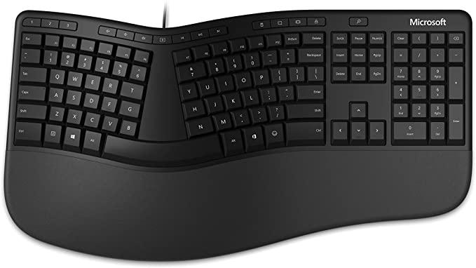 คีย์บอร์ดเออร์โกโนมิกส์ ( Ergonomic keyboard )