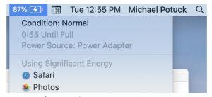 Apple ประกาศให้ผู้ใช้ Macbook Pro ที่พบปัญหาการชาร์จแบตเข้ารับการเปลี่ยนแบตได้ฟรี